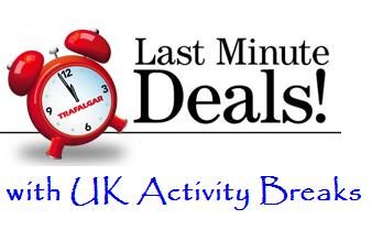 Last Minute Deals on UK Activity Breaks